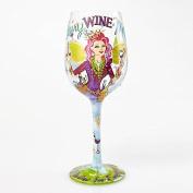 Lolita Glassware Fairy Wine Mother Wine Glass (4054098), 23cm , Multicolor