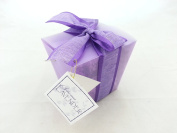 Sonoma Lavender Inc - Lavender Take-Out Box - Bath and Body Kit - Solid Purple
