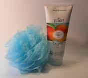 Mango Escape Shower Gel Aqua Colour Bath Pouffe
