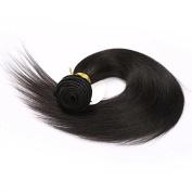 Aisha Queen 1 Straight 7A Hair Extension Brazilian Virgin Human Hair Bundle 46cm