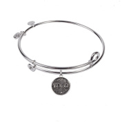 SOL 230105 Yolo, Bangle Sterling Silver Plated