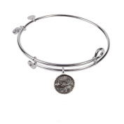 SOL 230103 Sign of the Fish, Bangle Sterling Silver Plated