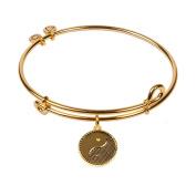 SOL 240101 Yin Yang, Bangle 18K Gold Plated