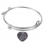 SOL 230078 Aunt, Bangle Sterling Silver Plated