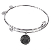 SOL 230007 Mother, Bangle Sterling Silver Plated