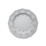 Arte Italica Merletto Dinner Plate, White