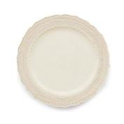Arte Italica Finezza Dinner Plate, Cream