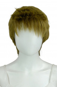 EpicCosplay Hermes Matcha Brown Pixie Hair Wig
