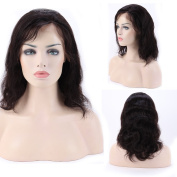 25cm - 60cm Glueless Virgin Brazilian Human Hair Lace Front Wig Short Deep Invisible Lace Wig Natural Hairline With Baby Hair Body Wave +Free Wig Net