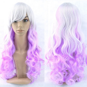 11 Colours Curly Hair Ombre Wig Cosplay Wigs Synthetic Hair Women Hair Colourful Pelucas Sinteticas