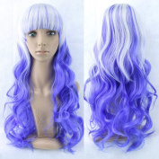 11 Colours Ombre Hair Cosplay Wig Synthetic Hair Wigs Colourful Women Hair Product