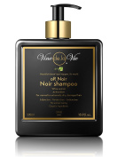 Vine de la Vie oR Noir Shampoo, Organic-Based - Wine Extract Antioxidants, Use on Wet or Dry Hair - 500ml