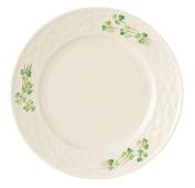 Belleek Group 0007 Shamrock Salad Plate, 22cm , White