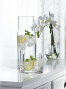 Style Setter Soho 2 Piece Round Water Set, Clear