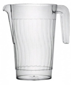 Fineline Settings Platter Pleasers Clear 1480ml Pitcher 50 Pieces