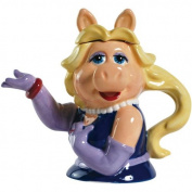 Westland Giftware Ceramic Teapot, Muppets Miss Piggy, 20cm