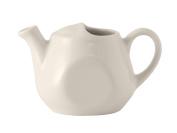 Tuxton BET-1601 Vitrified China Tea Pot Lidless, 470ml, Eggshell