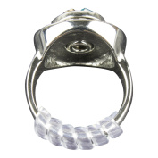 GWHOLE Ring Size Adjuster with Silver Polishing Cloth,Set of 4