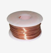 14 Ga Copper Round Wire 24m 0.5kg Spool (Dead Soft) Bare , Solid