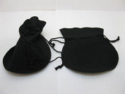 Velvet Drawstring Gift Jewellery Pouches Bags 10x12cm Pack of 50Pcs