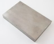Jewellers Tools Extra Large Solid Steel Bench Block 15cm X 10cm X 1.9cm