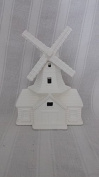 Windmill Village House ready to paint, ceramic bisque