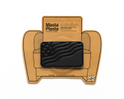 MastaPlasta, Leather Repair Patch, First-aid for Sofas, Car Seats, Handbags, Jackets, etc. Black Colour, Flag 10cm by 6.1cm , Designs Vary