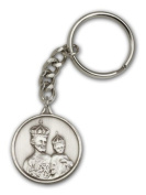 ReligiousObsession's Antique Silver St. Joseph Keychain