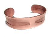Solid Wide Pure Southwest Copper Bracelet Made in USA