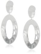 Robert Lee Morris Soho Silver Open Oval Drop Earrings