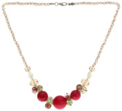 Lova Jewellery A Soft Red Necklace For You.