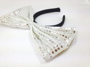 Sequin Bow Headband