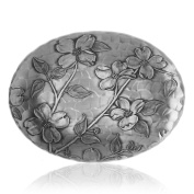 Wendell August Forge Dogwood Oval Dish, Small
