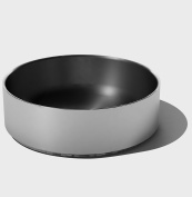 SteelForme Brushed 25cm Stainless Steel Double Wall Round Bowl