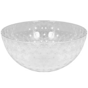 Party Dimensions Plastic Dimple Bowl, 2840ml, Clear