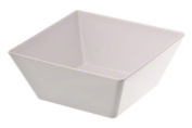 American Metalcraft MELSQ94 Melamine Square Bowl, 3700ml, White