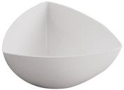 APS Paderno World Cuisine White Triangular Bowl