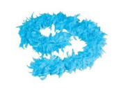 1.8m Adult Party Costume Decoration Feather Boa Turquoise