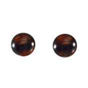 10mm Brown Horse Glass Eyes Doll Irises for Art Polymer Clay Taxidermy Sculptures or Jewellery Making Set of 2