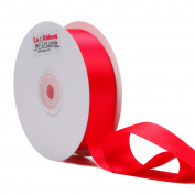 LaRibbons 2.5cm Wide Double Face Satin Ribbon - 25 Yard