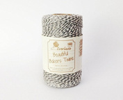 Quality Cotton Metallic Silver Baker's Twine 100m by James Lever 'Everlasto'