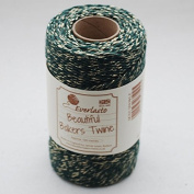 Quality Cotton Green & Gold Baker's Twine 100m by James Lever 'Everlasto'