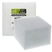 Floral Craft White Foam Blocks, 7.6cm x 10cm .