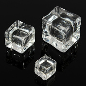 12Pcs/2CM Acrylic Clear Ice Rock Cubes for Vase Fillers and Table Decorating