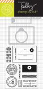 Hero Arts DC192 Kelly's Open Me Stamp & Cut Card Making Kit