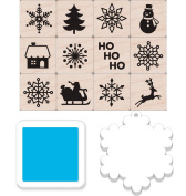 Hero Arts LP414 Winter Icons Mini Tub Card Making Kit