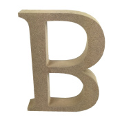 Dovecraft Wooden MDF decorative Embelishment Letter Collection Letter - B