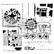 Crafter's Workshop Template 30cm x 30cm -Brazen Star