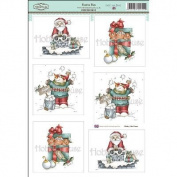 Daisy Mae Draws Topper Sheet 22cm x 31cm -Festive Fun