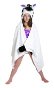 ZOOCCHINI Ziggy the Zebra Hooded Towel